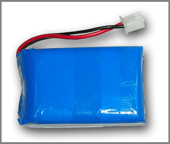 PIco LiPO Battery 1500mAh (with mounting plastic base)