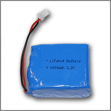 PIco LiFePO4 Battery 4000 mAh 2C  (with mounting plastic base)
