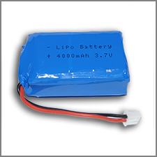 PIco LiPO Battery 4000 mAh 2C (with mounting plastic base)