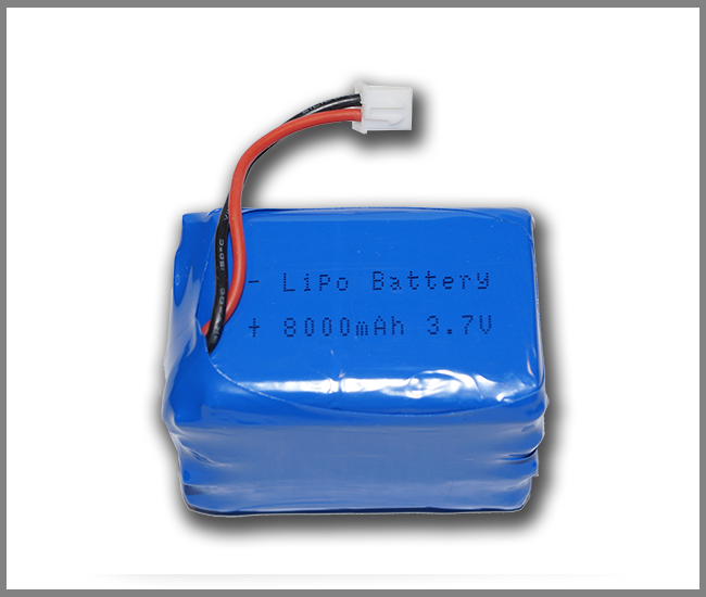 PIco LiPO Battery 8000 mAh 2C (with mounting plastic base)
